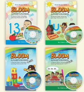 Homeschooling Bloom Books Kid 2